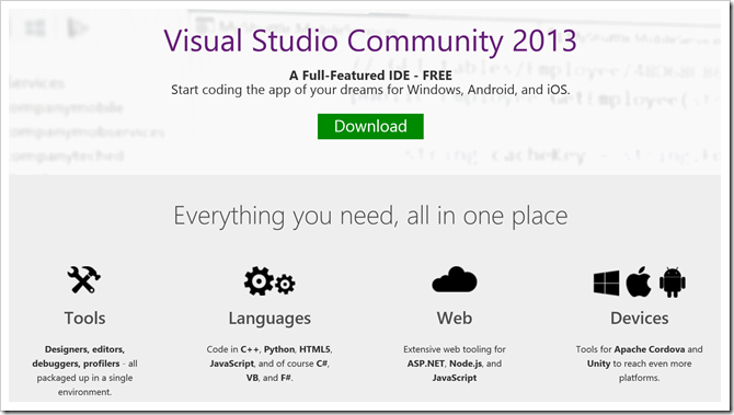 visual studio 2013 ultimate  full version for windows 7